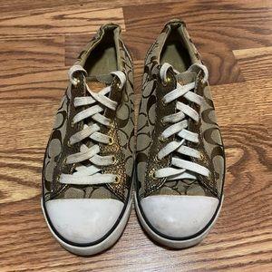 Coach Gema Sneaker size 9B